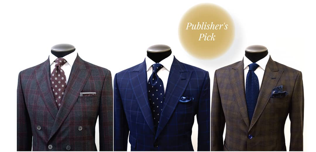 CUSTOM & BESPOKE SUITS. One-of-a-kind suits for the well-dressed husband, father and son on your list. Select fabric, design and details from an impressive list of options. Book an appointment for a fitting at the King & Bay lounge.