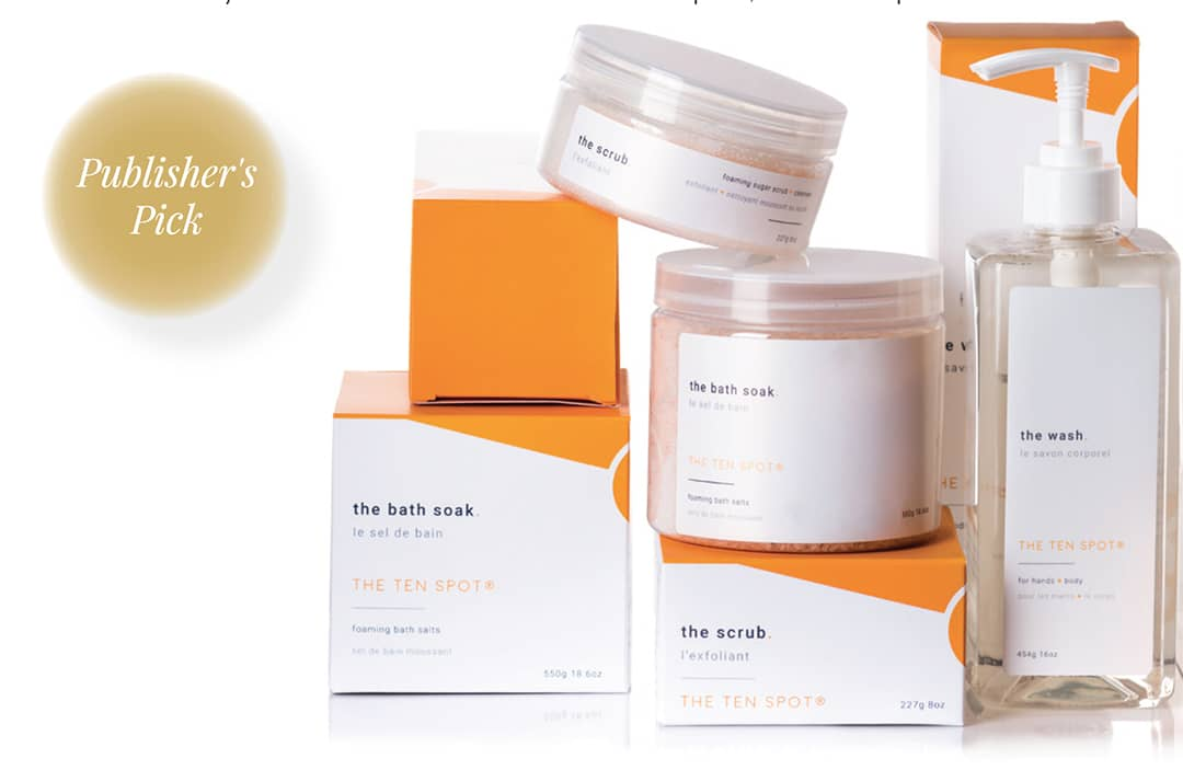 THE TEN SPOT BEAUTY. A cruelty-free, plant-based line of beauty products that are tested and curated by the Ten Spot team. Clean, efficient products with a touch of luxe to make you feel like a 10.