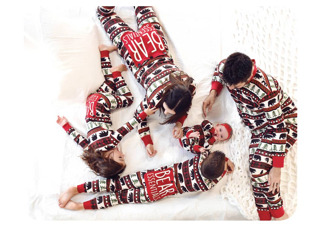 FAMILY JAMMIES. Find cute PJs in sizes to fit the whole family—infants, kids and adults (to XXL). Perfect for family photos on Christmas Eve or Christmas morning. Several styles available. Zenbar Healing Studio.